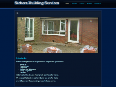 sichere-building-services.co.uk
